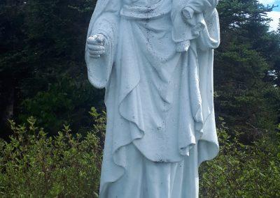 Statue de Saint-Joseph sur la montagne