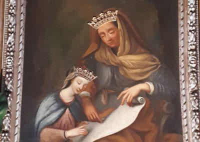 Tableau miraculeux de Sainte Anne