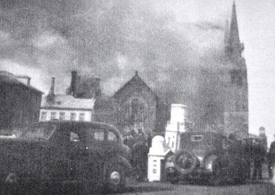 incendie de l'église Sainte-Anne-des-Monts en 1938