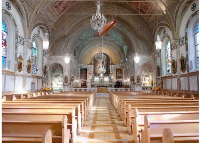 Intérieur de la chapelle Notre-Dame-de-Bon-Secours